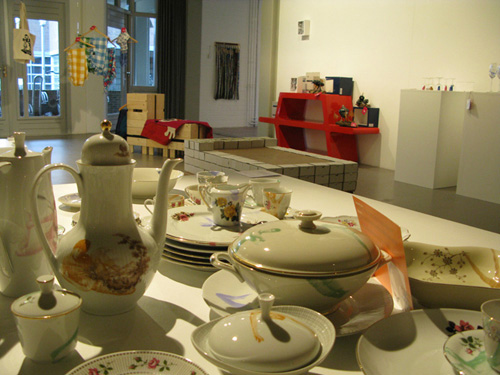 crockery set Esther Derkx